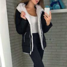 Fashion Women Winter Thicken Coats Long Sleeve Loose Jacket Outerwear Zip Coat