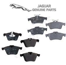 For Jaguar S-Type XF XJR Pair Set of Front & Rear Disc Brake Pads Genuine