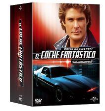 EL COCHE FANTASTICO SERIE COMPLETA DVD  ESPAÑOL NUEVO CASTELLANO