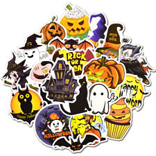 25Pcs Halloween Holiday Stickers Vinyl Decals Lot for Kid Trick Treat Party Gift