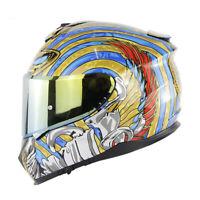 DOT Double Visor Motorcycle Full Face Helmets Motorbike Helmet Cascos Capacetes