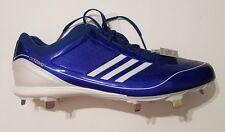 Adidas adizero Diamond King Low Baseball Cleats Shoes Blue Men's Size 13 Ne