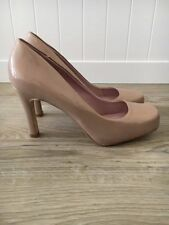NEXT Patternless Synthetic Leather Court Heels for Women
