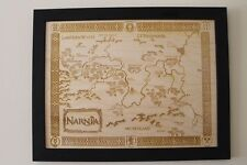 Wooden Narnia Map - Laser Engraved Chronicles of Narnia Map