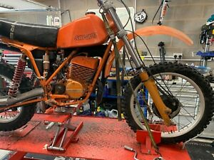 1980 CanAm MX-6 400cc Rotax Twinshock motocross mx bike restoration barn find