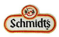 Vintage Schmidt's Since 1860 Brewing Beer Distributor Embroidered 3in Patch NOS