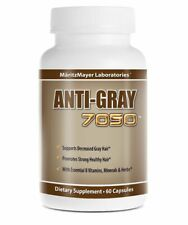 Anti Grey 7050 Hair Vitamins Maritz Mayer - Catalase Hair Loss Supplement