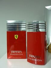 FERRARI PASSION AFTER SHAVE LOTION 100ml Splash ALMOST 85%FULL