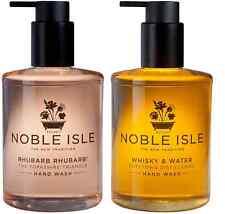 "Noble Isle Hand Wash Duo Set""WHISKY""&""RHUBARB"" 2x250ml & Free 30ml Molton Brown"