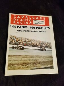 Cavalcade of Auto Racing Spring-Summer 1972 144 Pages 400 Pictures
