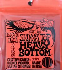 Ernie Ball Skinny Top Heavy Bottom 10-52 Electric Guitar Strings Free Postage