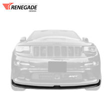 "Front lip for Jeep Grand Cherokee WK2 SRT8 2011-2016  ""Renegade"" Tyrannos V1"