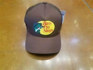 Bass Pro Shops (Brown) Snapback Trucker Hat Cap New!!!