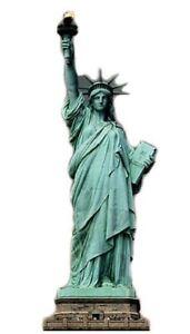 Statue Of Liberty Lifesize Cardboard Cutout – 213cm