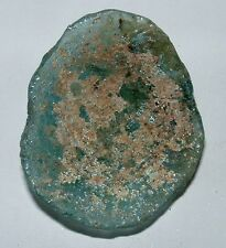 ancient roman glass fragment with very nice patina amazing