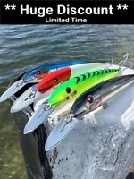 4 x Noeby Big Game Fishing Lures 275mm 78g Tuna Marlin Mackerel Mahi Mahi Gt's