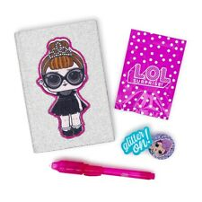 Lol Surprise Glitter Secret Keeper Mini Diary UV Reveal Pen Eraser Surprise Gift