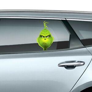 The Grinch Peeking Car Decal Wall Sticker Christmas Gift Kids Bumper Window