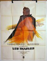 Plakat Cinema René Bekannt 1971 Les Teufel Ken Russel Redgrave Reed Sutton