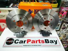 FORD FOCUS C MAX CMAX 2003-2007 REAR 2 BRAKE DISCS AND PADS *BRANDED KEYPARTS*