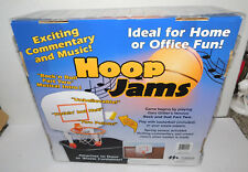 NOS HOOP JAMS MINI BASKETBALL HOOP AND BALL THAT PLAYS MUSIC  AND SOUNDS
