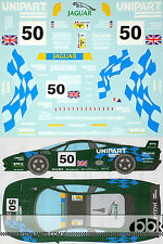 1/24 JAGUAR XJ220C LE MANS 1994 FULL SPONSOR DECAL for TAMIYA COULTHARD BRABHAM