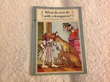 Kids fun paperback:What Do You Do with a Kangaroo?Mercer Mayer-bossy kangaroo-:)