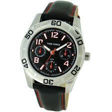 TIME FORCE TF-4119B04 RELOJ CADETE ACERO MULTIFUNCION 50M