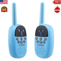 2x Walkie Talkies 9 Channel FRS/GMRS 462-467MHZ Two Way Radio Long Range Gift US