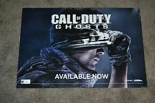 NEVER USED Call of Duty Ghosts 2014 Gamestop Promo Display Poster VG-NM COND!!!