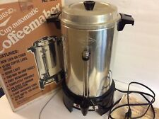 Vintage West Bend 55 Cup Coffeemaker with Box and Manual