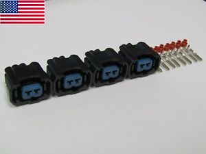 4 Fuel Injector connector for Suzuki Hayabusa GSXR750 GSXR600 GSXR1000 GSX1300F