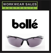 Brand New - Genuine - BOLLE` Safety Glasses - Sidewinder Smoke