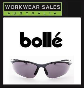 BOLLE` Safety Glasses - Sidewinder Smoke - Genuine Bolle