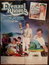 "24"" Frenzal Rhomb San Souci Album Promo Poster Fat Wreck Chords Band NOFX"