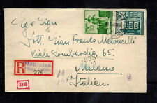 1942 Stanislaus Poland Germany GG cover to Milan Italy