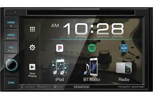 "Kenwood DDX376BT In-Dash 2-Din, 6.2"" CD DVD Car Stereo Receiver w/ Bluetooth"