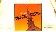 The Best Of Country Gospel Vinyl LP 33 3 Record Box Set Columbia C3 10042