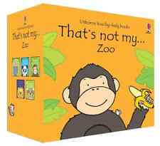 Thats Not My Zoo Collection Usborne Touchy-feely 5 Books Set Monkey Lion Panda