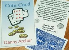 Coin Card by Danny Archer - Produce Coins From Cards and End in a Matrix Routine