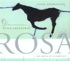 ██ OPER ║ Louis Andriessen (*1939) ║ ROSA: HE DEATH OF A COMPOSER ║ 2CD