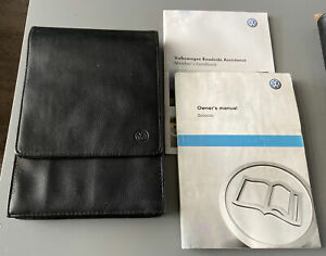 VW SCIROCCO OWNERS MANUAL HANDBOOK & FOLDER WALLET BOOK PACK Mk3 2008-2014