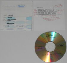 Poison  Misc Transfers  2003 U.S. promo cd - very RARE!