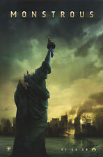 Cloverfield Original S/S Monstrous Advance Rolled Movie Poster 27x40 NEW 2008