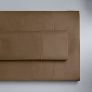 New Simply Vera Vera Wang Supima Cotton 600 Thread Count Sheet Set