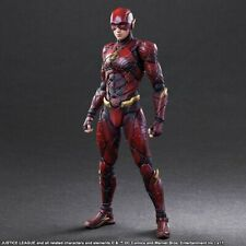 Justice League Variant Play Arts Kai The Flash Action Figure - UK Seller