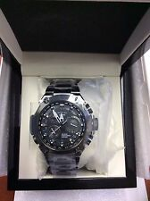 Casio  MRGG1000B-1A Quartz Titanium Mens Watch Alarm