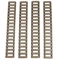 4x New Ladder Rail Cover Handguard Weaver Picatinny Heat Resistant Strip Pro.
