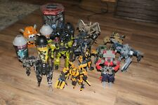 Transformers Movie Action Figures Lot Optimus Bumblebee Megatron Starscream Mint