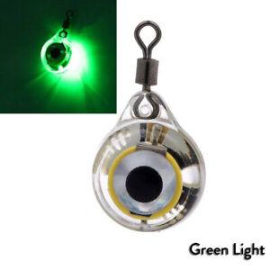 Underwater LED Night Light Fishing Lure Glow Attracting Fish Lamp Fishing Bait